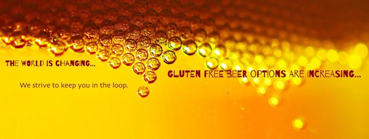 This site has one simple purpose:to connect gluten free beerlovers with thebestgluten free beer on the market today!