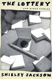 The Lottery, Shirley Jackson. My kids had to read this in the 6th grade and it gave my daughter nightmares.