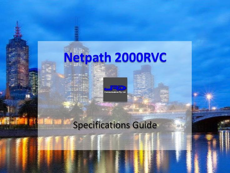 Netpath 2000RVC Receiver Voting Comparator Specifications Guide   http://www.slideshare.net/kunoichiau/netpath-2000rvc-receiver-voting-comparator-specifications-guide