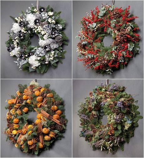 Wild at Heart Christmas Door Wreaths