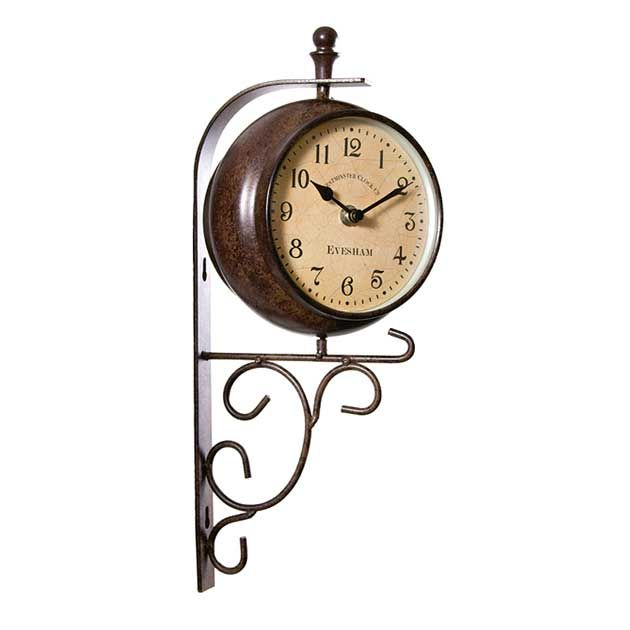 For Inside (library?) Or A Garden Wall. Only By Outside In Evesham Clock  And Thermometer Via Achica