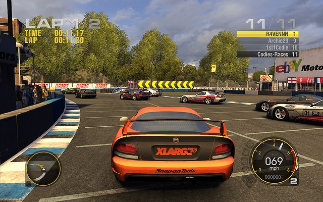 #Screenshot from Race Driver: #GRID