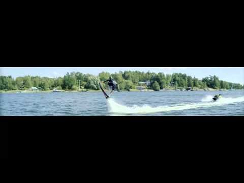 Flyboard SUPERWIDE 340° Aqua Cinema @ www kokpunkten se - YouTube