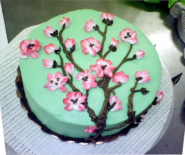 Cherry Blossom Cake (Arizona Tea Cake)