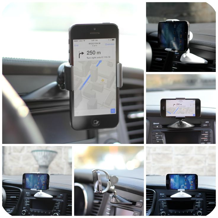Ppyple Universal Car CD Slot Smartphone Car Mount Holder Cradle for iPhone, Samsung Galaxy, LG and more