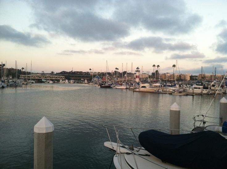 Oceanside Harbor at sunset. Gorgeous!Oceanside Harbor, Point South