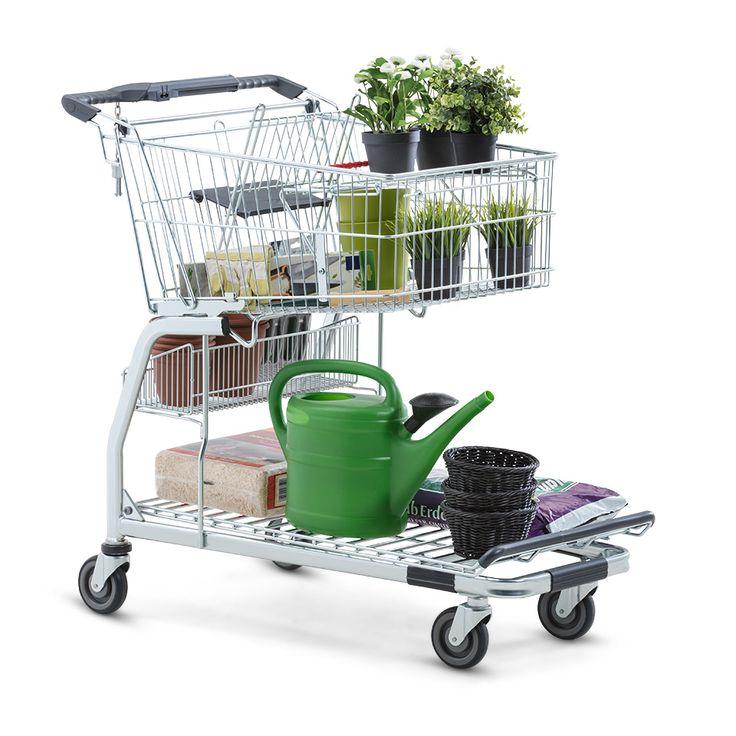 Transportní vozík FlexCart - praktický nosič pro stavební a zahradní centra