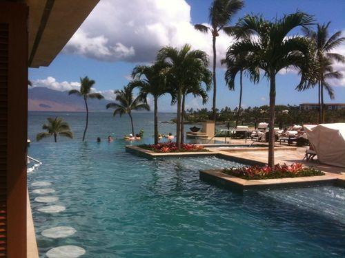 Four Seasons Resort in Maui, Hawaii.  Perfect honeymoon destination.