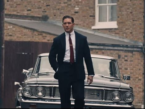 Tom Hardy is doubly good as he plays both Reggie and Ron Kray in the biopic of their criminal lives which saw them come close to ruling over London in the swinging sixties.