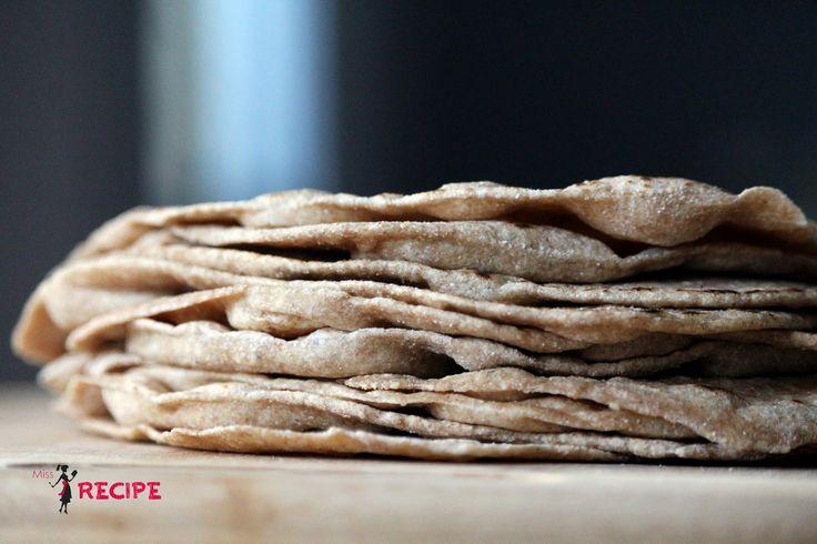 Tortillas de blé entier | Whole wheat tortilla - Miss-Recipe.com