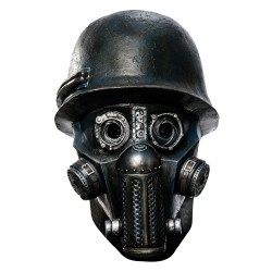 Sucker Punch - Overhead Gas Mask Zombie Latex Mask