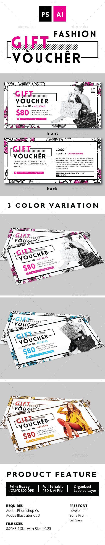 25 best ideas about Gift voucher design – Gift Voucher Examples