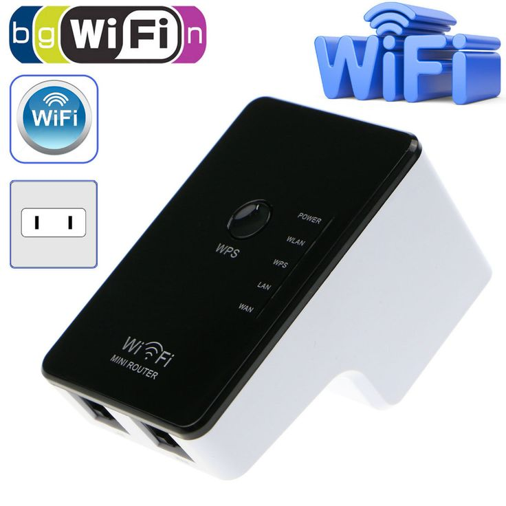 Wifi Repeater 300Mbps Wireless-N Mini Router Extender Booster Amplifier US Wholesale 1set USPS Fast Free Shipping
