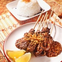 Beef Satay, a traditional Indonesian cuisine that have its own delicacy.