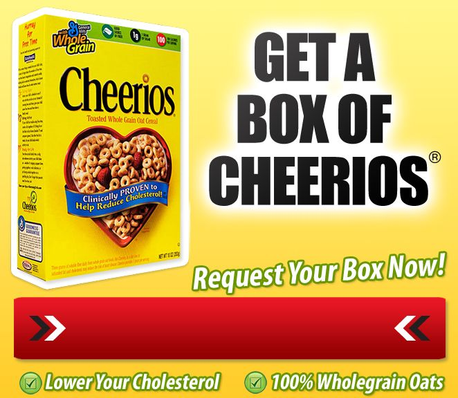 get box of Cheerios