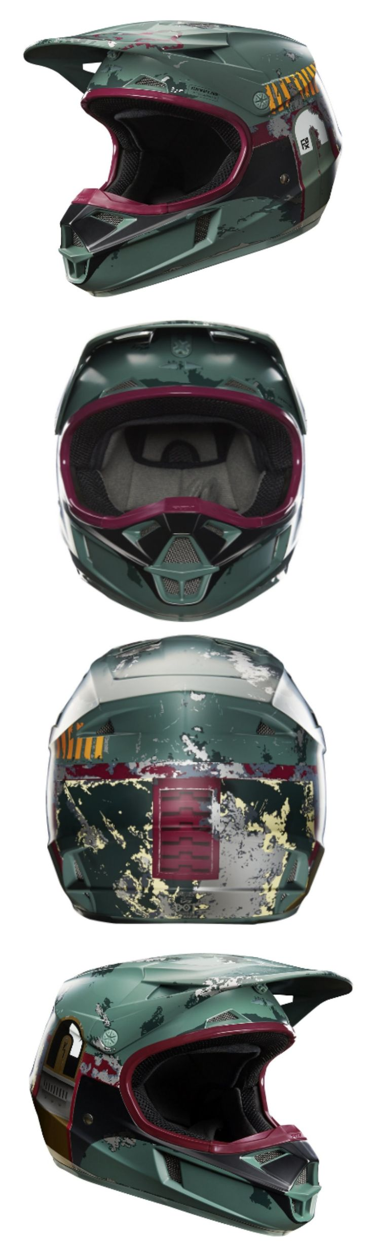Star Wars Boba Fett Limited Edition Fox Racing Helmet
