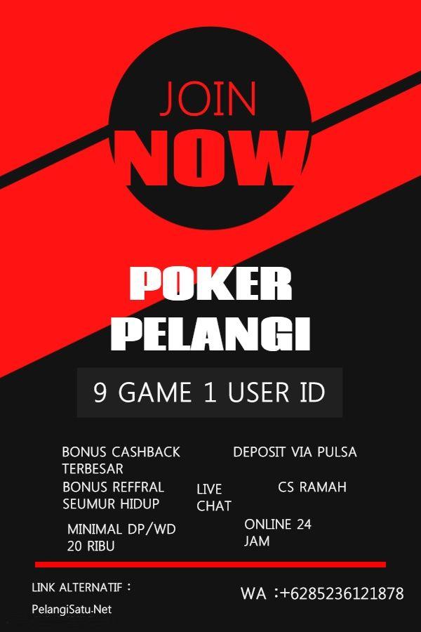 Pin On Poker Pelangi Situs Terpecaya