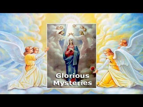 Holy Rosary - Glorious Mysteries - Wednesday & Sunday - YouTube