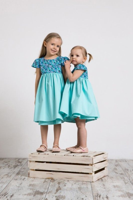 dziewczynka - moda - sukienki-Sukienka LENA
