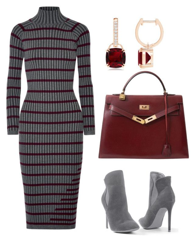 """chics"" by mchlap on Polyvore featuring T By Alexander Wang, Venus and Hermès"