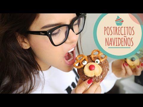 3 POSTRES NAVIDEÑOS ♥ - #Yuya - YouTube