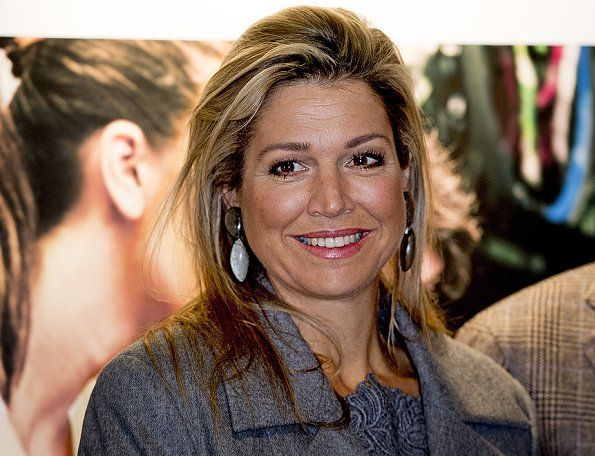 ♥•✿•QueenMaxima•✿•♥.On November 18, 2016, Dutch Queen Maxima attends the presentation of the annual report 2016 'State of the SME's of the Dutch committee for Entrepreneurship and Finance at the day of Entrepreneurship in Voorschoten. 12h