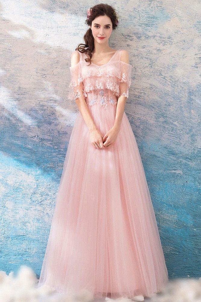 16++ Pink flowy dress ideas