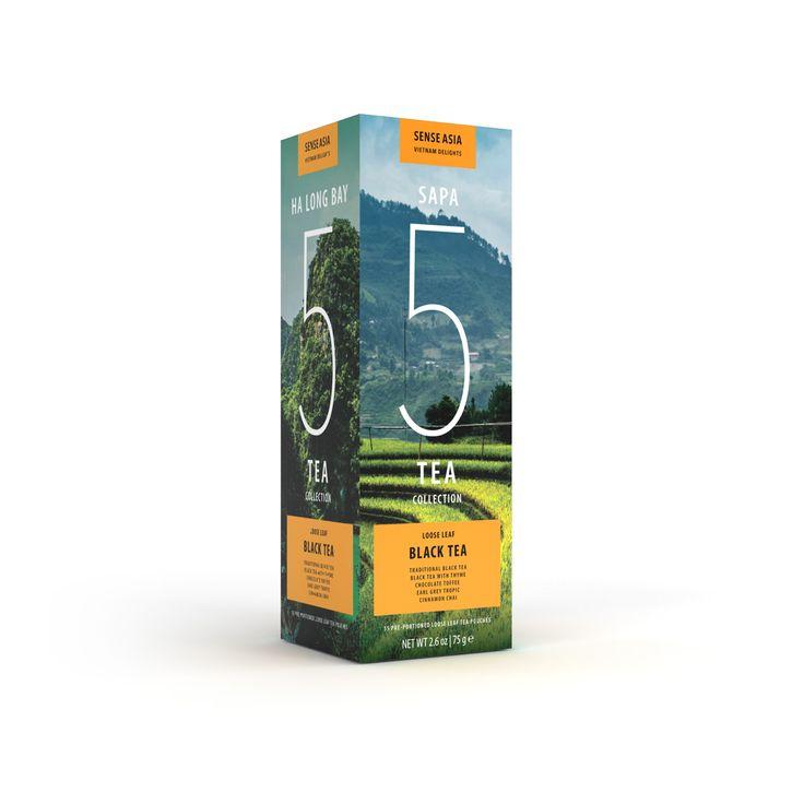 Vietnam delight 5 black teas - with 15 tea pouches inside!!! #tea #Vietnam #gift #blacktea