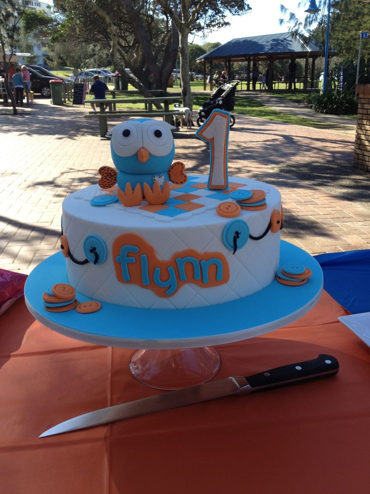 Flynn's Giggle and Hoot cake made by Ideas in Icing
