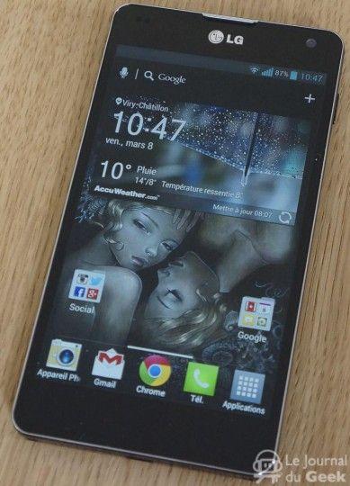 [Jeu-concours] Gagnez un smartphone LG Optimus G !