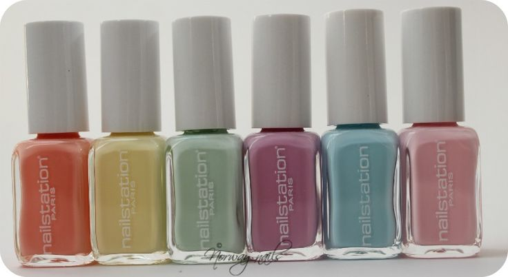 Nailstation Pastel Collection.