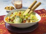 Chinakohl-Salat mit Putenstreifen Rezept