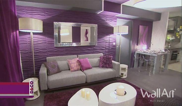 guide d233co salon moderne d233co pinterest violets d
