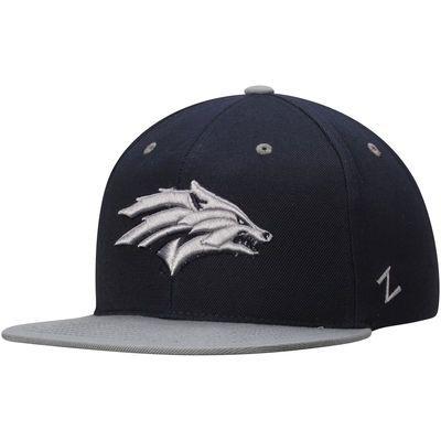 Nevada Wolf Pack Zephyr Z11 Snapback Adjustable Hat - Navy