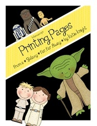 Star Wars Themed Printing Pages. My boys love this and so do my girls! It is perfect for the start of the new school year!