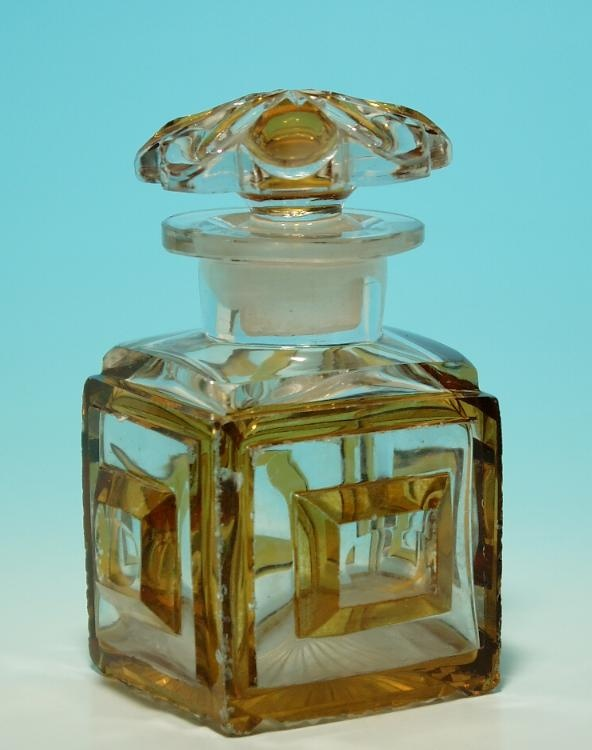 Biedermeier Perfume Bottle circa 1840