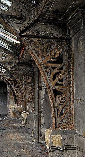 """artpropelled: """" Grey Brown """" Steel Art made Steel barrons; Functional Steel created the dysfunctional Steel Industry as we know it."""