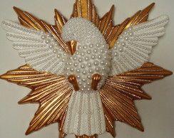 Duch Święty tynk - Golden BIG
