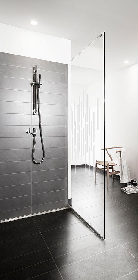 GlassLine & HighLine #showerscreen #bathroom #badeværelse #design #minimalistic #nordicdesign #design #inspirational #interior
