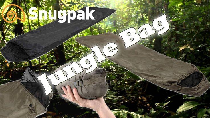 Bolsa de Dormir Jungle Bag de Snugpak - YouTube