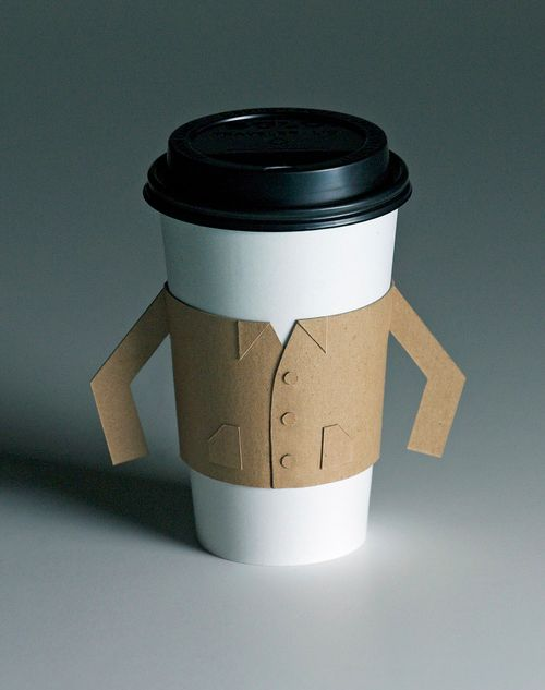 Suited coffee