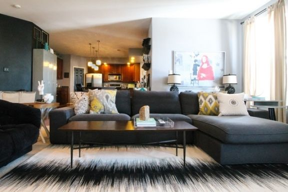Houzz Living Room Sectional Sofas Houzz Living Room Eclectic Living Room Family Room Sectional