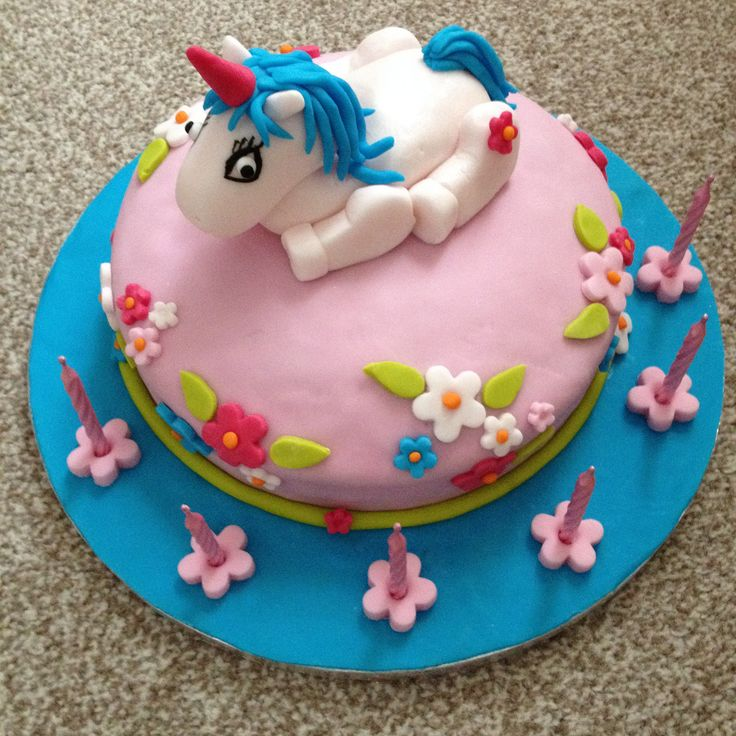Someone was 6 years old and loved unicorns.