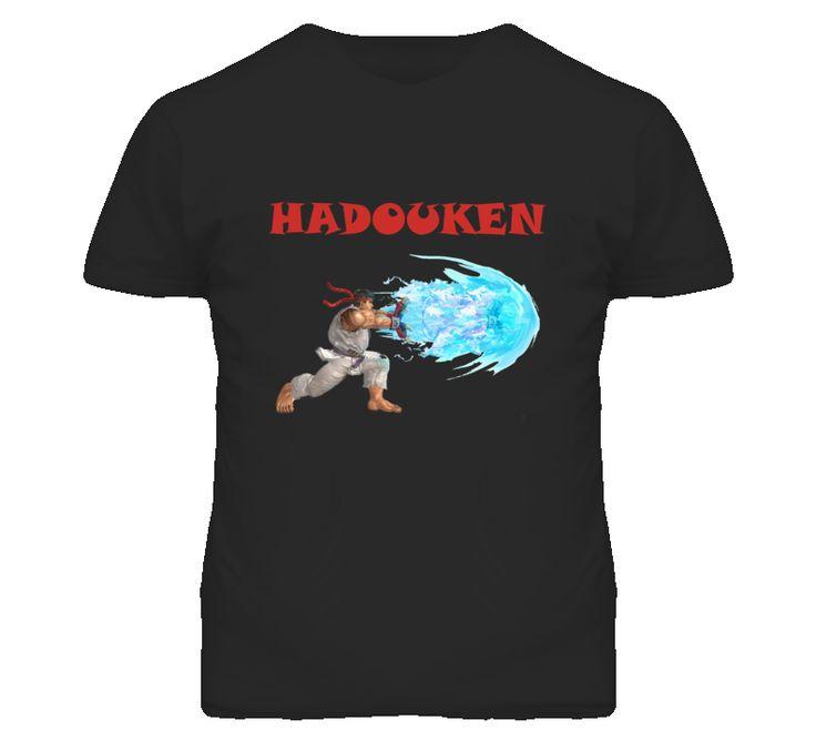 Hadouken Ryu Vs Ken Street fighter T Shirt. www.live-tees.com