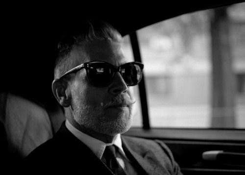 Nick Wooster. This photo is first in a series of originals for this site. ~Sean