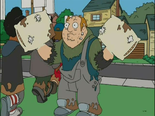 Pillow Hands McGraw from 'Threat Levels' season 1, episode 2 (2005) American Dad!
