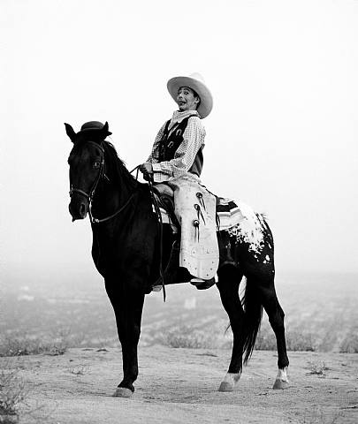 PeeWee on a horse.. even better because it's by Herb Ritts..