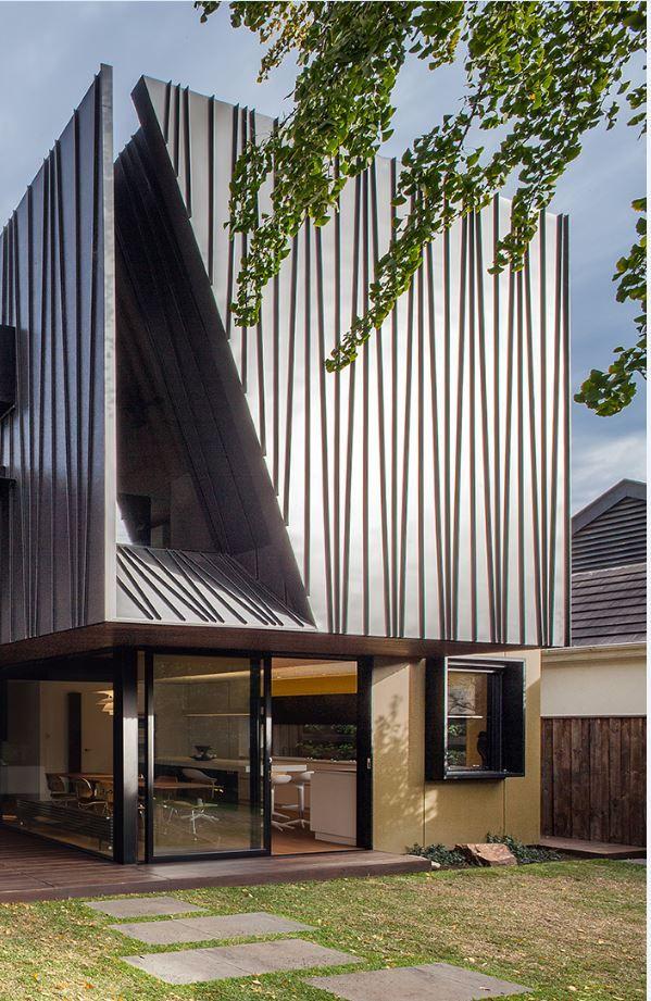 Myamyn Street Residence, Melbourne (Australia) By Nicholas Murray  Architects #architecture #facade