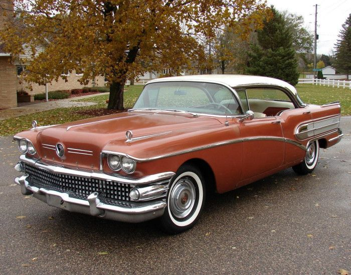 I remember we had a 58 Buick when I was a kid. I really loved that car. It had so much room, and there was this rope on the back of the front seat that we could hold on to. I was my favorite car from my childhood.  1958 Buick Century