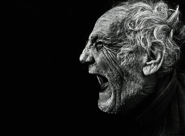 Stunning New Photographic Portraits by Lee Jeffries portraits black and white
